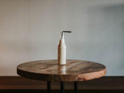 میز چوب گرد
